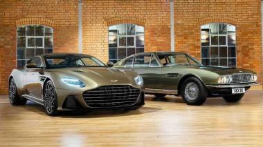Aston Martin подтвердил появление еще одного автомобиля в новом фильме о Бонде