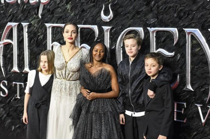 Анджелина Джоли рассказала о детях (ФОТО)