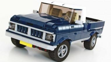 Из деталей конструктора Lego собрали пикап Ford F-100 1957 года (ФОТО)