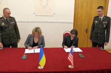 Украина и Америка подписали оборонный протокол