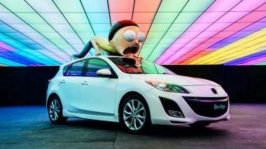 Mazda3 превратилась в автомобиль в стиле «Рика и Морти» (ВИДЕО)