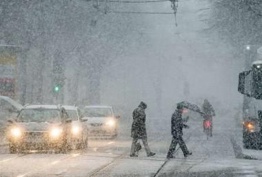 Украину накроет снежный шторм