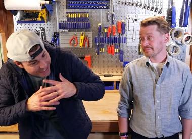 Маколей Калкин и бывший инженер NASA разработали ловушку для воров (ВИДЕО)
