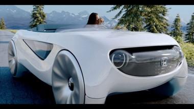 Honda представит автономный концепт Honda Augmented Driving Concept