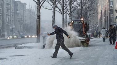 На Украину надвигается настоящая зимняя стихия