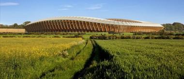 В Англии построят первый в мире деревянный стадион