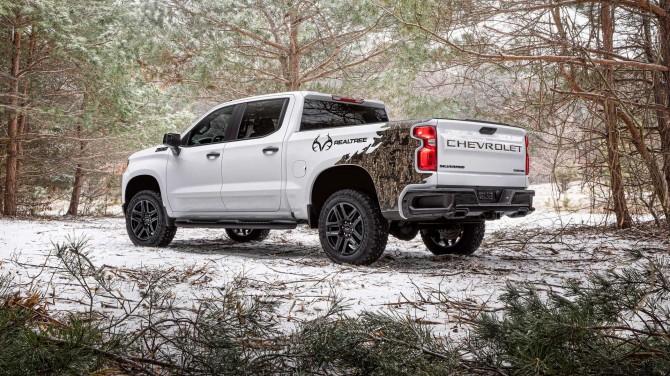 Представлен Chevrolet Silverado Realtree для любителей охоты и рыбалки