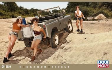 Компания Liqui Moly напечатала календарь с красотками и маслом на 2020 год (ВИДЕО)