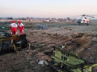 В сеть попало новое видео падения украинского Boeing в Иране
