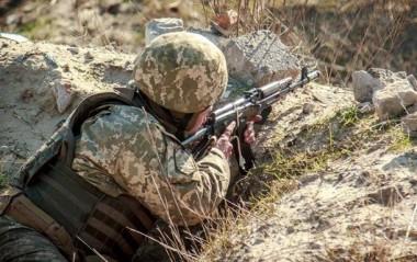 В зоне ООС в результате обстрелов один военный погиб