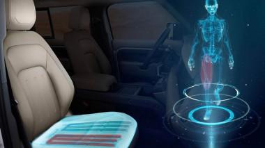 Новое кресло Jaguar Land Rover будет тренировать во время вождения