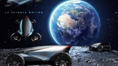 Компания Lexus представила дизайн для лунохода