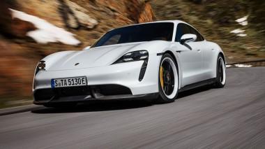 Проехались бы на Porsche Taycan Turbo S, за рулем которого Уилл Смит?