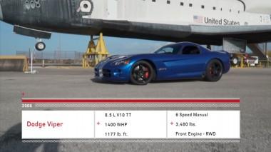 1400-сильному Dodge Viper удалось случайно установить рекорд скорости (ВИДЕО)