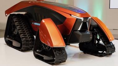 Японцы создали беспилотный трактор
