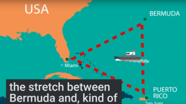 Бесследно исчезнувший в Бермудском треугольнике балкер нашли у побережья США
