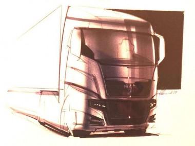 В сеть попала «шпионская» съемка нового грузовика MAN TGX 2020 (ВИДЕО)