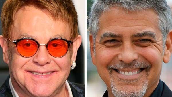 Элтон Джон поссорился с Джорджем Клуни из-за Меган Маркл и принца Гарри