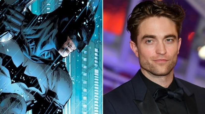 Мэтт Ривз показал Роберта Паттинсона в образе Бэтмена