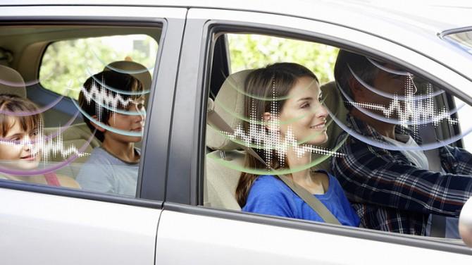 Новая технология превращает кабину автомобиля в динамик
