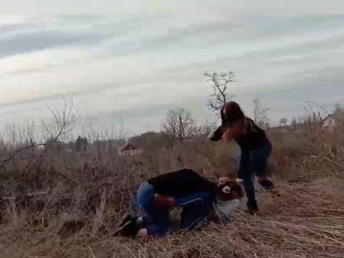 В Житомирской области подростки жестоко избили школьницу (ВИДЕО)