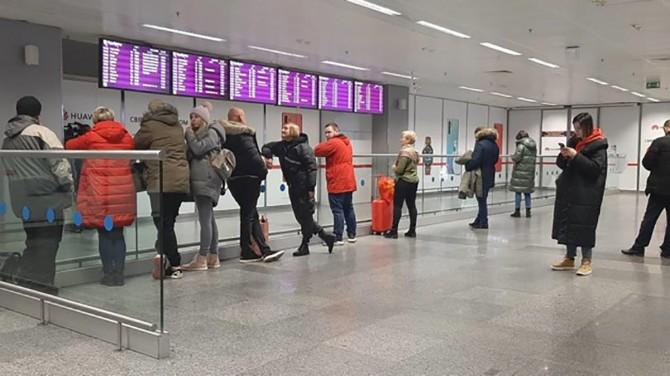 В аэропорту Киев не проверяют состояние здоровья пассажиров из Италии