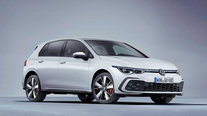 VW представил Golf 2021 в версиях GTE (электро) и GTD (дизель)