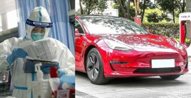 На заводе Tesla в Шанхае остановили производство из-за вспышки коронавируса