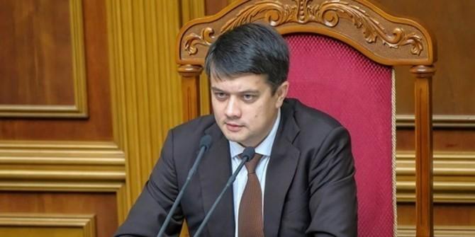 Разумков опроверг информацию об испортившихся отношениях с Зеленским
