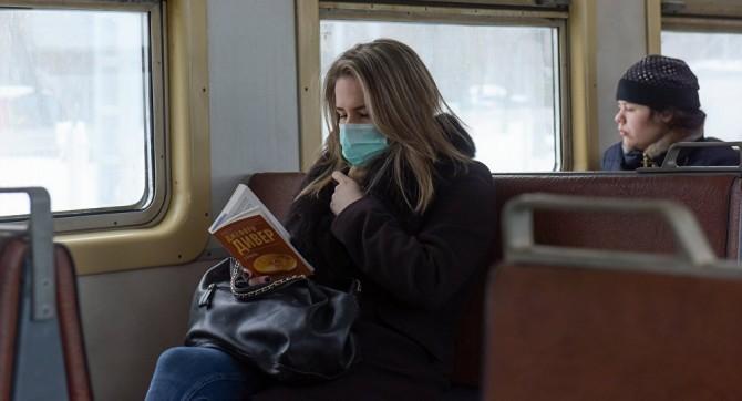 Сегодня в столичный общественный транспорт можно будет зайти только в защитной маске