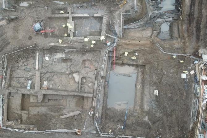 В Дублине нашли древнюю военную базу викингов
