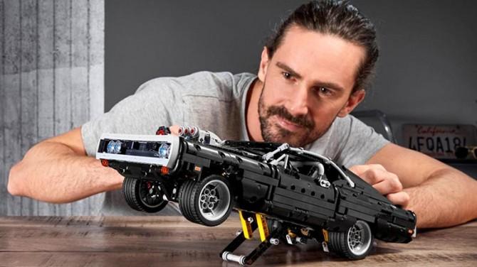Lego построил Dodge Charger из фильма «Форсаж»