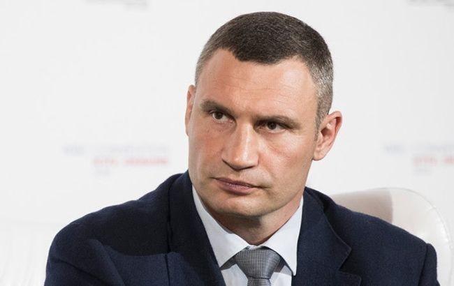 Кличко допускает запрет на движение частного транспорта в Киеве