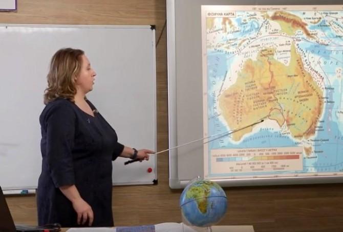 Учительница географии перепутала названия океанов в прямом эфире