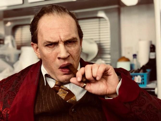 Тома Харди не узнать в роли легендарного гангстера Аль Капоне (ВИДЕО)
