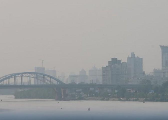 Состояние воздуха в Киеве опустилось до критических значений
