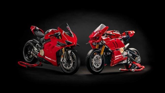 Супербайк Ducati Panigale V4 R теперь можно собрать из LEGO