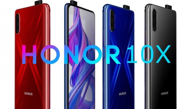 Бюджетный Honor 10X Pro с 5G показали на рендере