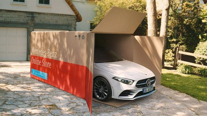 Mercedes-Benz начал доставлять автомобили на дом