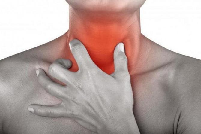 Названы симптомы рака горла, которые легко перепутать с ОРВИ
