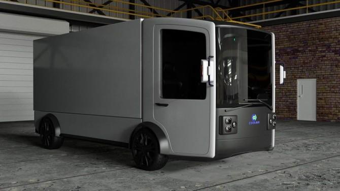 Murmuration Technology построит электрический фургон-трансформер