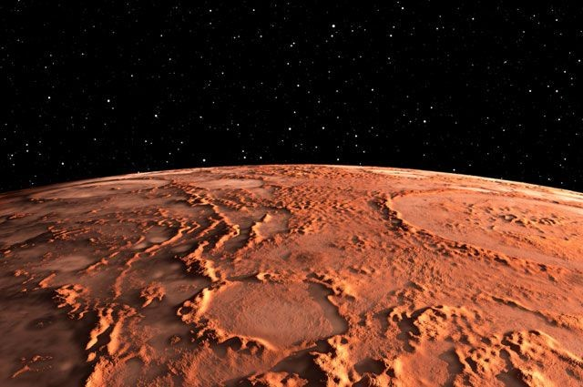 На Марсе впервые заметили следы большой реки