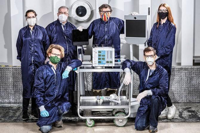 Ученые НАСА создали новую модель аппарата ИВЛ
