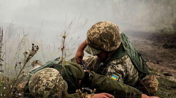 На Донбассе боевики 24 раза нарушали режим тишины, четверо украинских военных ранены