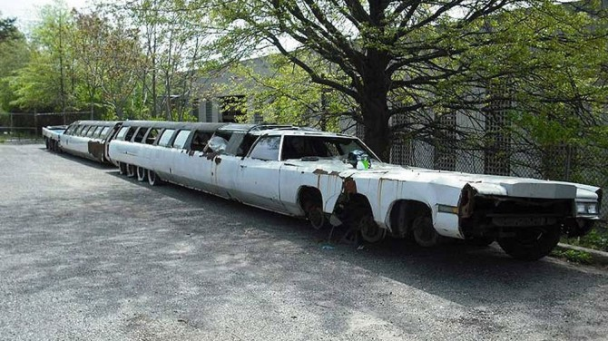 В США будут восстанавливать самый длинный лимузин в мире (ФОТО)