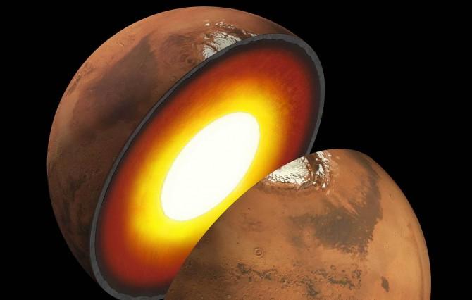 Ядро Марса воссоздали в лабораторных условиях