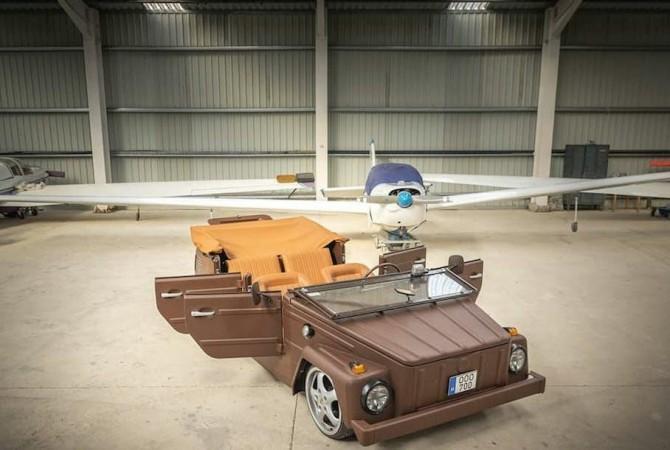 В сети показали обтянутый кожей Volkswagen с колесами от Porsche (ФОТО)