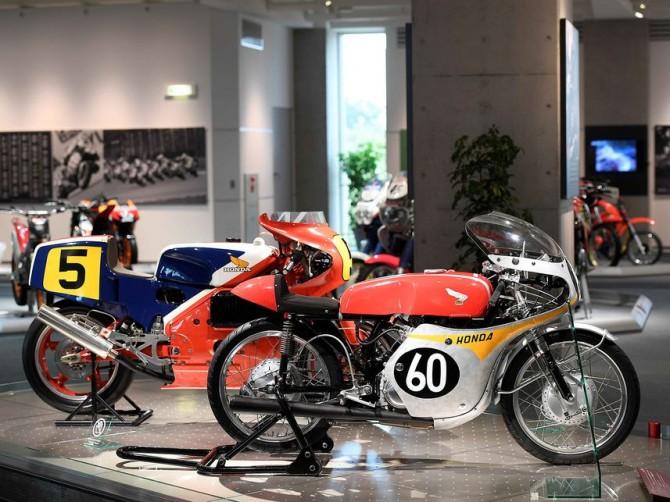 Компания Honda показала на видео коллекцию своих мотоциклов
