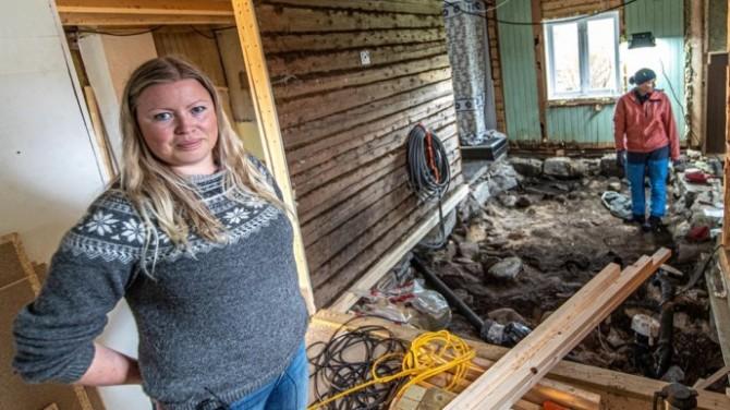 Семья из Норвегии нашла могилу викинга под полом собственного дома