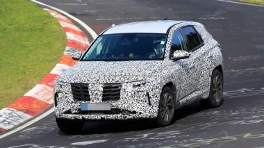 Hyundai Tucson во время тестов на Нюрбургринге потерял колесные гайки (ФОТО)